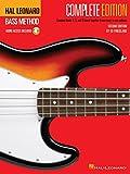 Método de Hal Leonard Bass - Edición completa: libros 1, 2 y 3 ¡Unidos en un solo volumen fácil de usar!